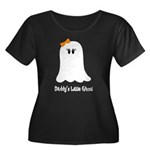 Daddy's Little Ghoul Women's Plus Size Scoop Neck