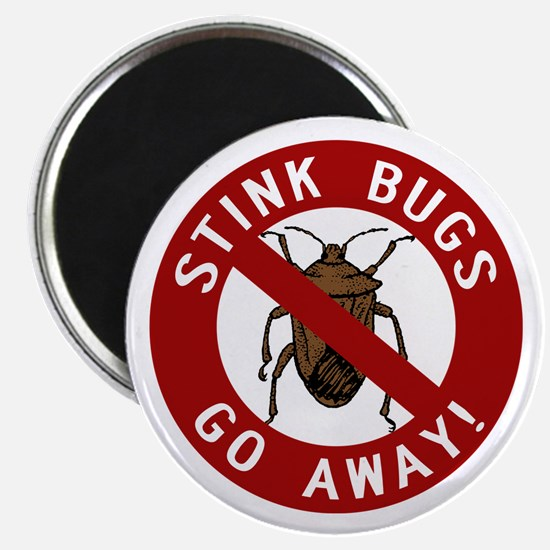Stink Bugs Go Away Magnet