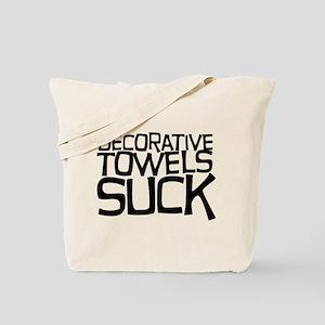 Decorative Towels Suck Tote Bag