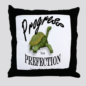 TURTLE PROGRESS Throw Pillow