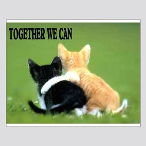 TOGETHER WE CAN Small Poster