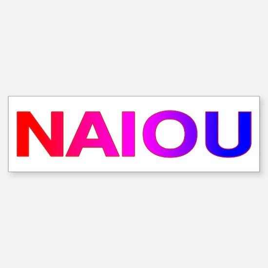 NAIOU Sticker (Bumper)