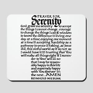 FULL SERENITY PRAYER Mousepad