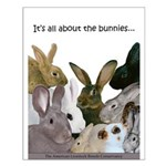 Bunnies Small Poster