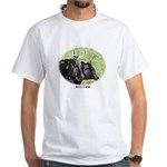 Artistic Kerry Cattle White T-Shirt