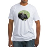 Artistic Kerry Cattle Fitted T-Shirt