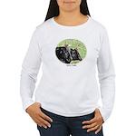 Artistic Kerry Cattle Women's Long Sleeve T-Shirt