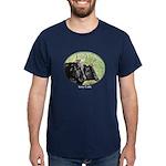 Artistic Kerry Cattle Blue T-Shirt