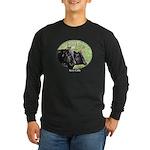 Artistic Kerry Cattle Long Sleeve Dark T-Shirt