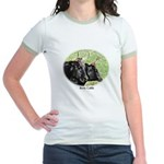 Artistic Kerry Cattle Jr. Ringer T-Shirt