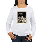 Full of Fiber! (Black) Women's Long Sleeve T-Shirt