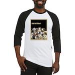 Full of Fiber! (Black) Baseball Jersey