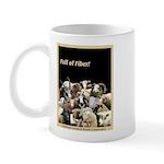 Full of Fiber! (Black) Mug