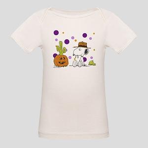 Spikey Halloween Organic Baby T-Shirt