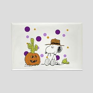 Spikey Halloween Rectangle Magnet