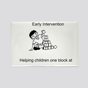 Early Intervention Rectangle Magnet