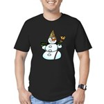 New Orleans Christmas Men's Fitted T-Shirt (dark)