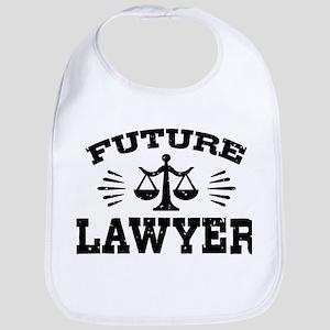 Future Lawyer Cotton Baby Bib