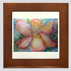 Flower, beautiful, Framed Tile
