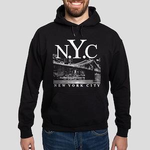 NYC New York City Skyline Hoodie (dark)