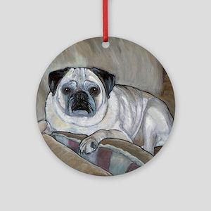 """Pug"" Ornament (Round)"