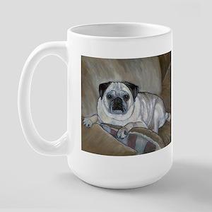 """""""Pug"""" Large Mug"""