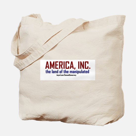 Demand Democracy Tote Bag