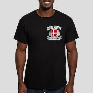 Kobenhavn Denmark Men's Fitted T-Shirt (dark)