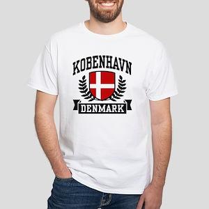 Kobenhavn Denmark White T-Shirt