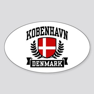 Kobenhavn Denmark Sticker (Oval)