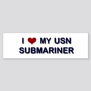 I Love my Sumbariner Bumper Sticker