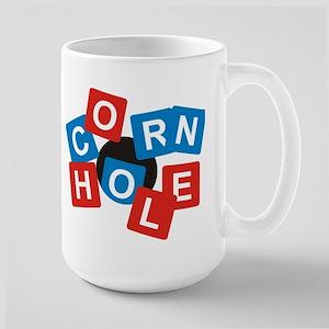 Cornhole Mania Large Mug