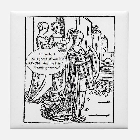 Medieval Mayhem - Gossip Tile Coaster