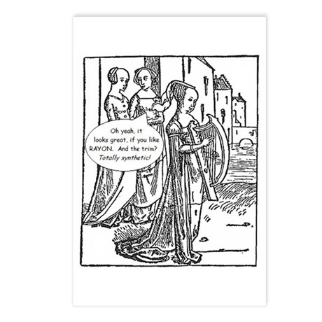 Medieval Mayhem - Gossip Postcards (Package of 8)