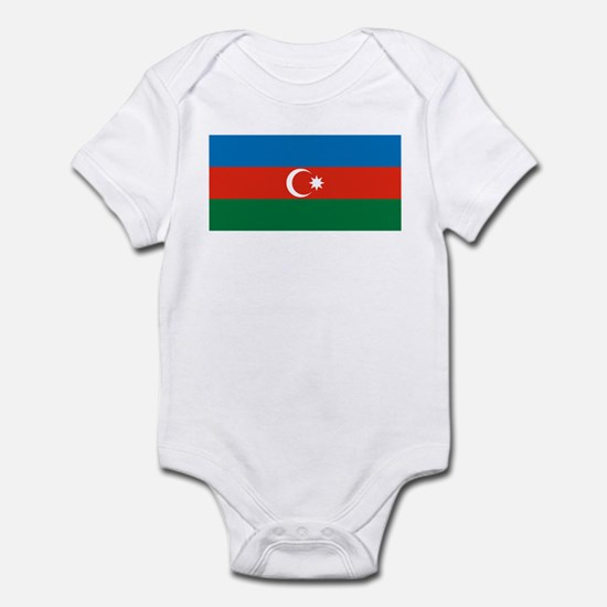 Azerbaijan Flag Infant Creeper