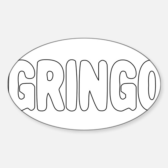 GRINGO Sticker (Oval)