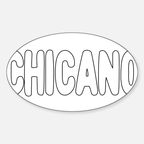 CHICANO Sticker (Oval)