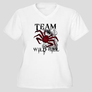 Team Wild Bill Women's Plus Size V-Neck T-Shirt