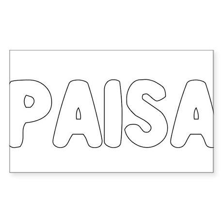 PAISA Sticker (Rectangle)