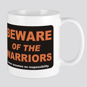 Beware / Warriors Mug