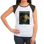 Awareness Apparel Women's Cap Sleeve T-Shirt
