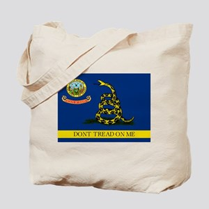 Dont Tread on Me Idaho Tote Bag