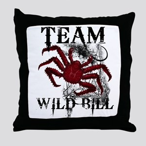 Team Wild Bill Throw Pillow