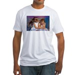 Adolescent Migraine Awareness Fitted T-Shirt