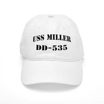 USS MILLER Cap