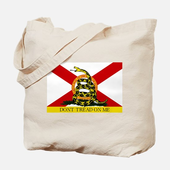 Don't Tread on Me Florida Tote Bag