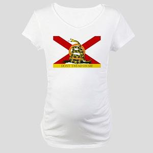 Don't Tread on Me Florida Maternity T-Shirt