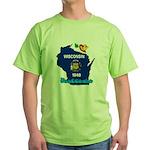 ILY Wisconsin Green T-Shirt