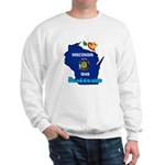 ILY Wisconsin Sweatshirt