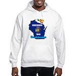 ILY Wisconsin Hooded Sweatshirt